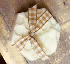 Milk Soaps with a Honey Bee Design