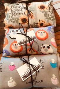 Fabric Bags and Pillows