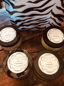 Sugar Scrubs with essential oils and coconut oil