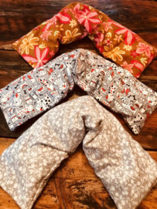 Neck Heating and Cooling Pads for Aromatherapy