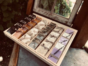 Handmade Soaps on Display
