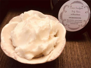 body butter natural products essential oils